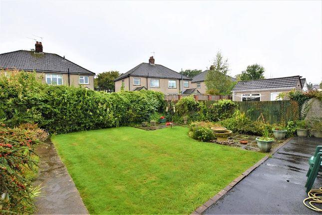 Rear Garden of Lon-Y-Nant, Rhiwbina, Cardiff. CF14