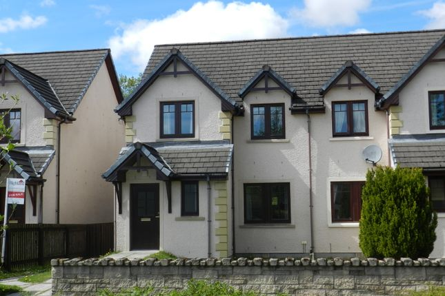 Semi-detached house for sale in Munro Place, Aviemore