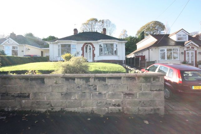 Thumbnail Detached bungalow to rent in Newcastle Road, Talke, Stoke-On-Trent