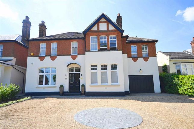 Thumbnail Detached house to rent in Crescent East, Hadley Wood, Hertfordshire