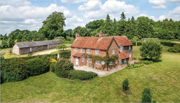 Thumbnail Detached house for sale in Dunley, Whitchurch, Hampshire