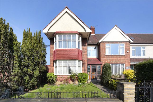 Thumbnail End terrace house for sale in Burntwood Lane, Wandsworth Common, London