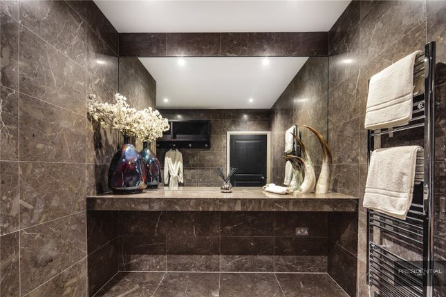 Changing Room of Aspen House, Chigwell, Essex IG7