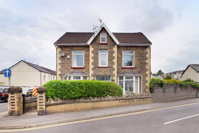 Thumbnail Detached house for sale in The Walk, Merthyr Tydfil
