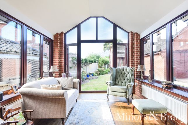 Thumbnail Detached house for sale in Upton Road, Pilson Green, South Walsham
