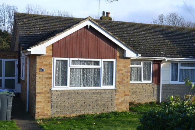 Thumbnail Bungalow to rent in Highgate Road, Whitstable