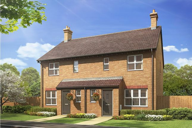 """Thumbnail End terrace house for sale in """"The Hanbury """" at Bannold Road, Waterbeach, Cambridge"""