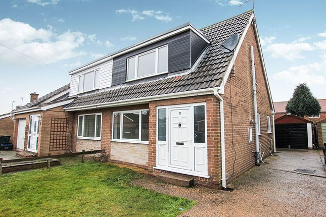 Thumbnail Bungalow to rent in Derwent Drive, Barlby, Selby
