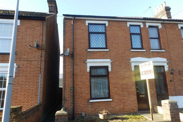 3 bed semi-detached house for sale in Khartoum Road, Ipswich, Suffolk