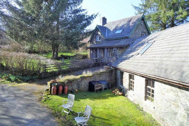 Thumbnail Detached house for sale in Gelli Oerfel, Llanafan Fawr, Builth Wells, Powys