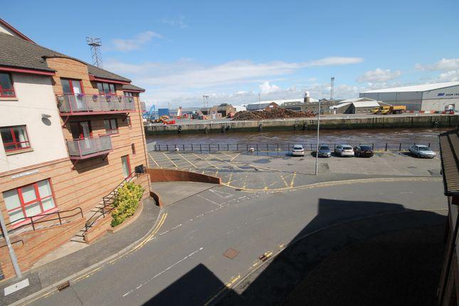 Thumbnail Flat to rent in Rowallan Court, South Beach Road, Ayr