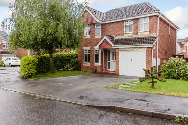 Thumbnail Detached house for sale in Warwick Close, Lincoln