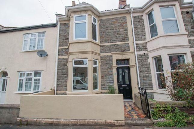 Thumbnail Terraced house for sale in Tudor Road, Easton, Bristol