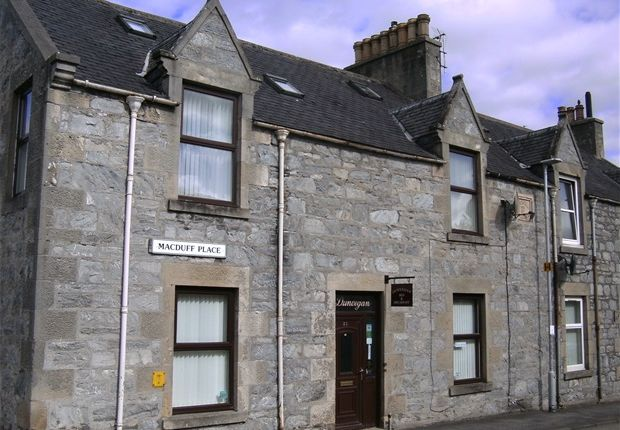 Thumbnail End terrace house for sale in Macduff Place, Dufftown, Keith