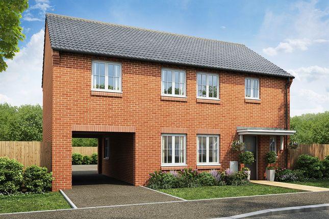 "Thumbnail Detached house for sale in ""The Twickenham"" at West Cross Lane, Mountsorrel, Loughborough"