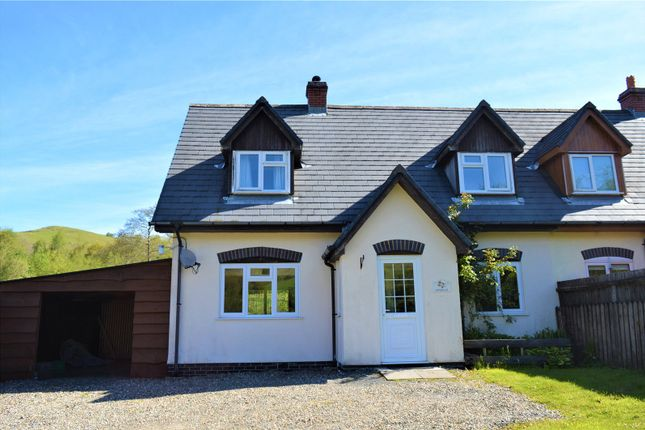 Thumbnail Semi-detached house to rent in Dolfach, Llanbrynmair, Powys