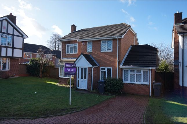 Thumbnail Detached house for sale in Halfway Close, Great Barr, Birmingham