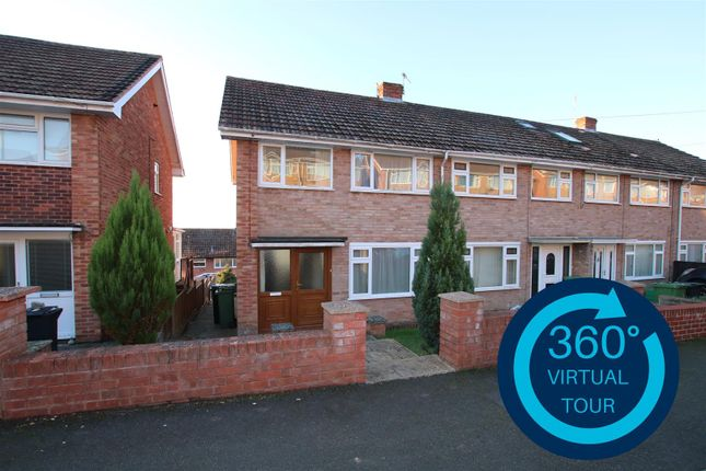 3 bed end terrace house for sale in Cottey Crescent, Exeter