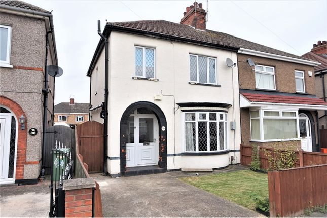 Thumbnail Semi-detached house for sale in Lichfield Road, Grimsby