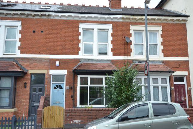 Thumbnail Terraced house for sale in Woodbridge Road, Moseley, Birmingham