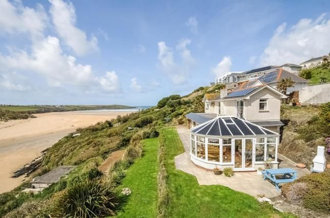 Thumbnail Detached house for sale in Pentire, Newquay, Cornwall