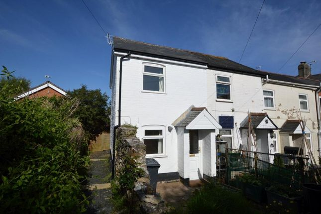 Thumbnail End terrace house to rent in Queen Street, Honiton, Devon
