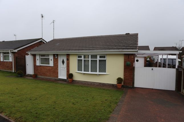 Thumbnail Bungalow for sale in Hawksdale Close, Meir Park