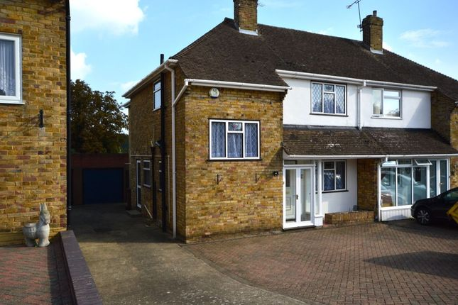 Thumbnail Semi-detached house to rent in Yantlet Drive, Strood, Rochester