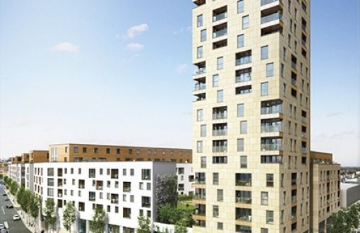 Thumbnail Flat for sale in The Northern Quarter, Capitol Way, Colindale
