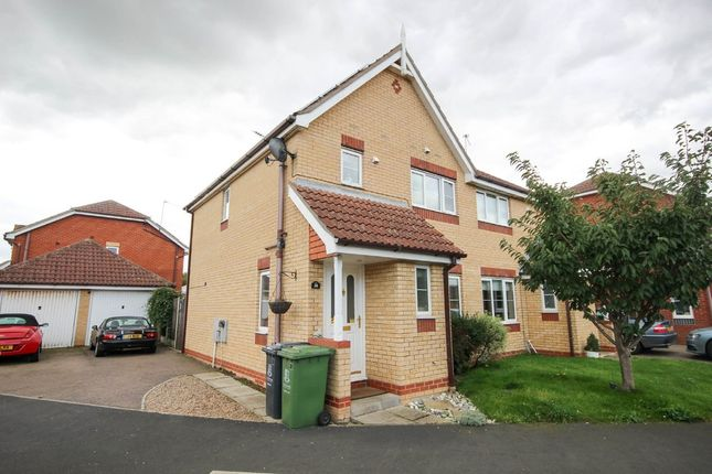 Thumbnail Semi-detached house for sale in Bridge Meadow, Hemsby, Great Yarmouth