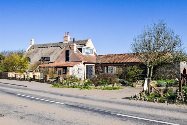 Thumbnail Detached house for sale in Old Manor House, Coast Road, Walcott, Norwich