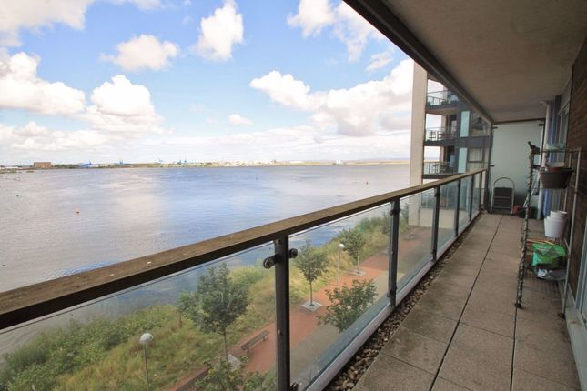 Thumbnail Flat to rent in Eddystone House, Prospect Place, Cardiff Bay