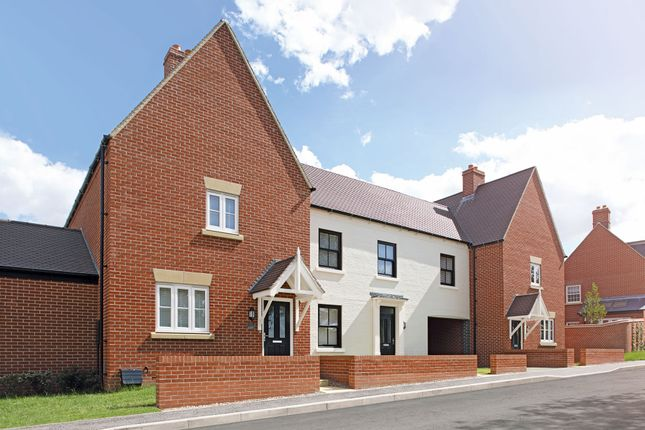 """Thumbnail End terrace house for sale in """"The Studland"""" at Epsom Avenue, Towcester"""