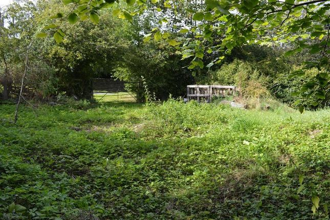 Thumbnail Land for sale in Potential Residential Building Land, Post Office Lane, Carno, Caersws, Powys