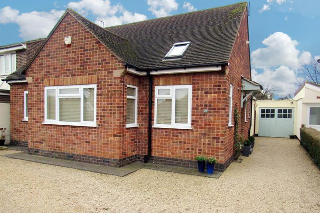 Thumbnail Detached bungalow for sale in Colby Road, Thurmaston, Leicester