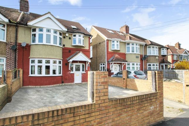 Thumbnail Semi-detached house for sale in Springwell Road, Heston, Hounslow