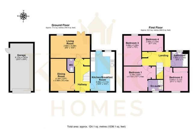 Floorplan of Nurseries Road, Wellesbourne, Warwick CV35