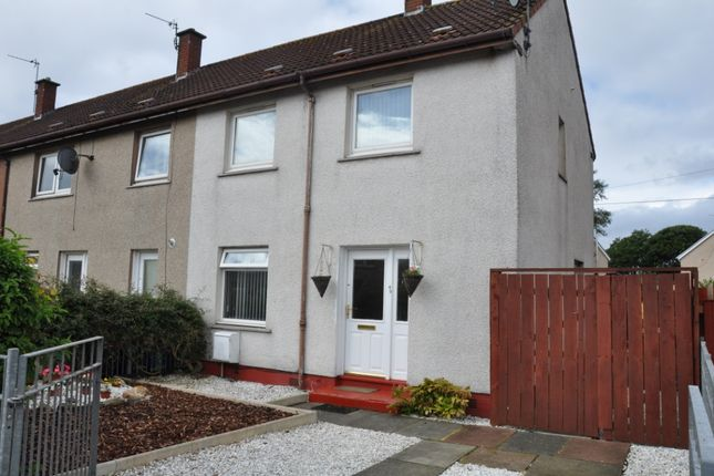 Thumbnail End terrace house for sale in St. Andrews Road, Ardrossan