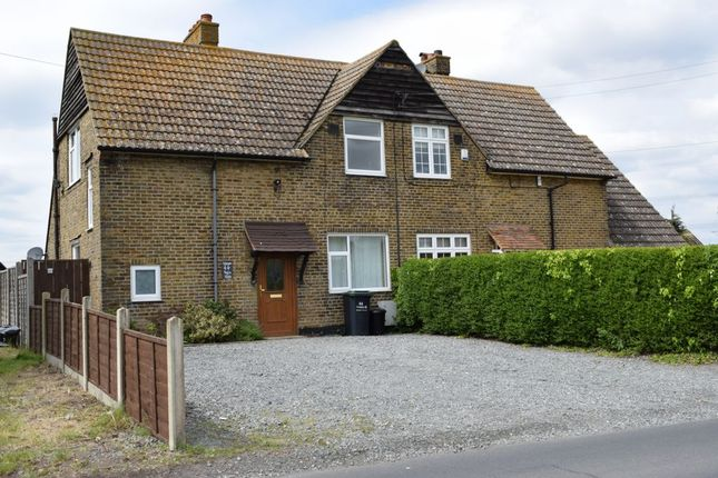 Thumbnail Terraced house to rent in Thong Lane, Shorne
