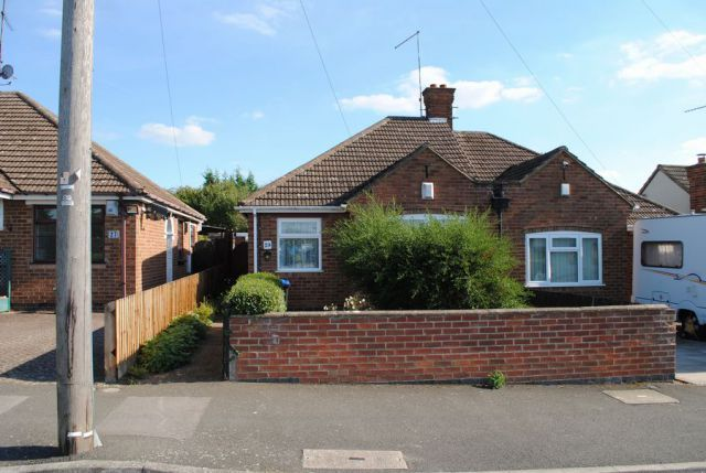 Thumbnail Semi-detached bungalow for sale in Canons Walk, Kingsthorpe, Northampton