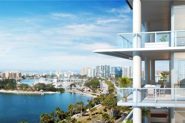 Thumbnail Town house for sale in 605 S Gulfstream Ave #15, Sarasota, Florida, United States Of America
