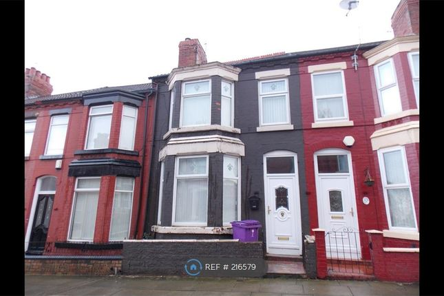 Thumbnail Terraced house to rent in Oban Road, Liverpool