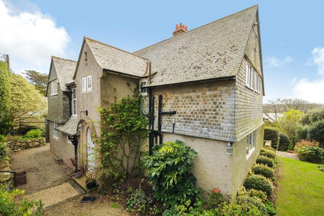 Thumbnail Detached house for sale in Vicarage Lane, Lelant, St. Ives, Cornwall