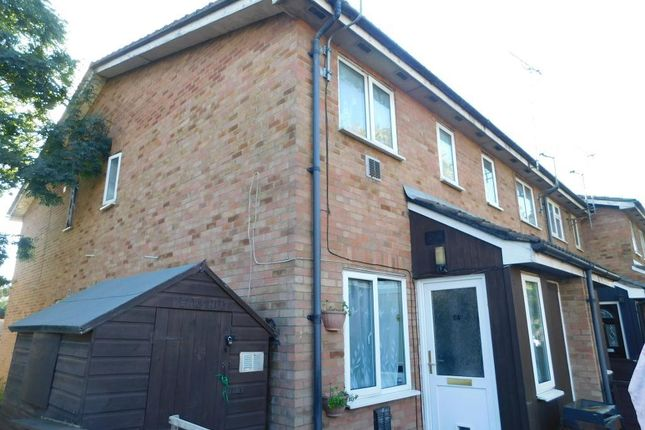 Thumbnail End terrace house to rent in Meadowbrook Close, Colnbrook