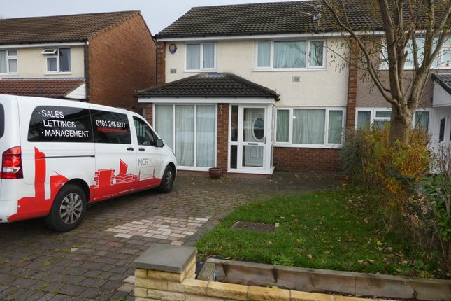 Thumbnail Semi-detached house to rent in Ashdale Drive, Heald Green, Cheadle