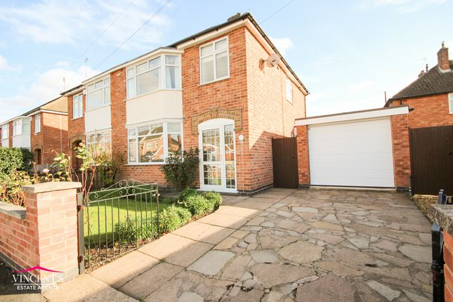 Thumbnail Semi-detached house for sale in Percy Street, Leicester
