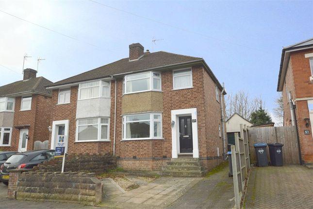 Thumbnail Semi-detached house to rent in Wheatfield Road, Bilton, Warwickshire