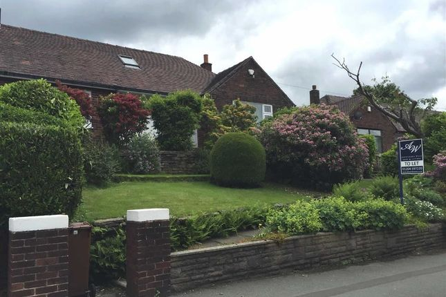 Thumbnail Semi-detached bungalow to rent in Blackburn Road, Bolton