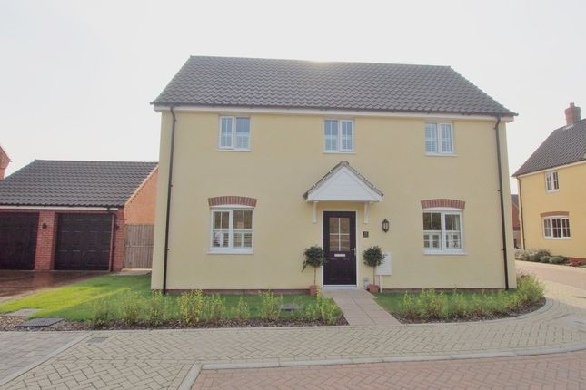 Thumbnail Detached house for sale in Pond Way, Wymondham