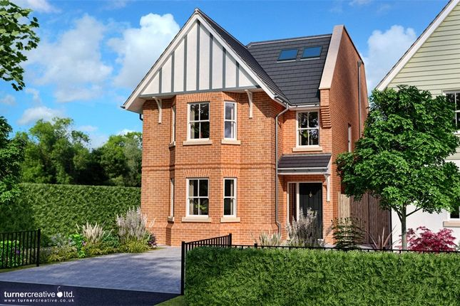 Thumbnail Detached house for sale in The Valders, Linsford Lane, Mytchett
